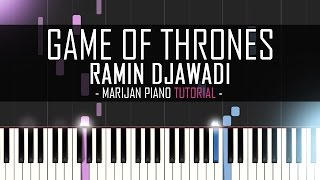 How To Play: Game Of Thrones - Main Theme (Soundtrack) | Piano Tutorial + Sheet Music
