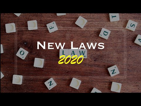 Summary of New Laws in Malaysia 2020.
