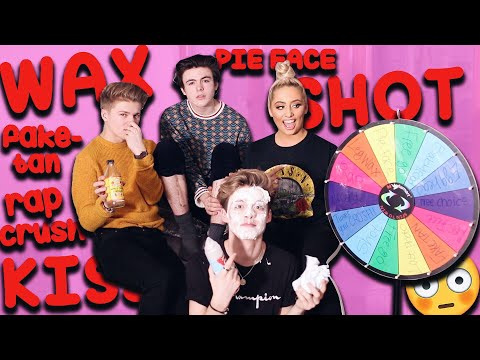 HILARIOUS SPIN THE WHEEL CHALLENGE! ft NEWHOPECLUB!! 😱😂