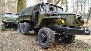 Грузовики WPL B36 Урал 4320 WPL B24 Газ-66