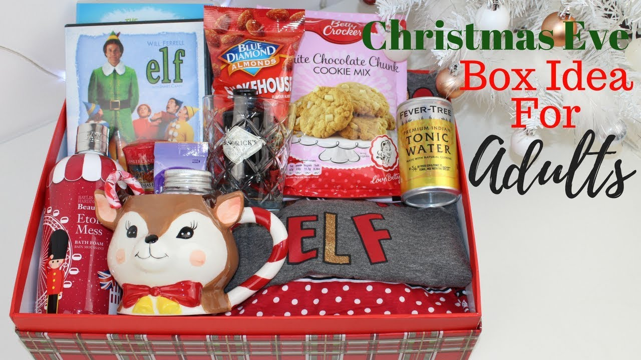 Adult Christmas Eve Box Idea Uk Simple And Affordable Youtube