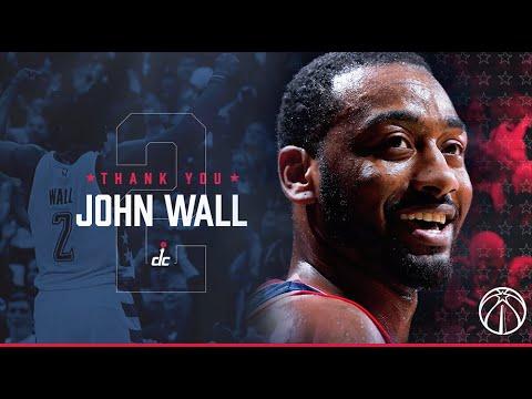 "Washington Wizards upload ""Thank You, John Wall"" video"