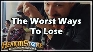 [Hearthstone] The Worst Ways To Lose