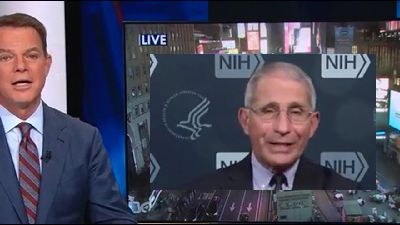 Shep Smith incredible support for Dr Fauci + Fauci closes down Trump calling him
