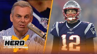 Colin talks destinations for Brady, says legacy won't be affected if he leaves Pats | NFL | THE HERD