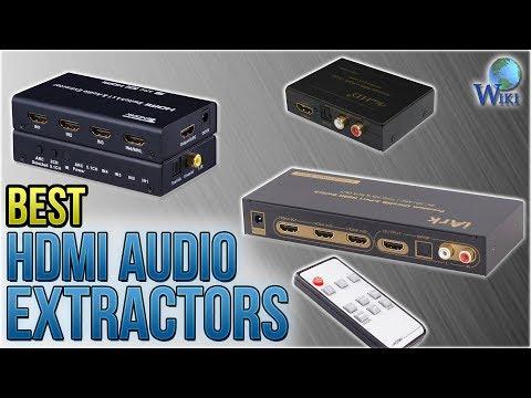 7 Best HDMI Audio Extractors 2018