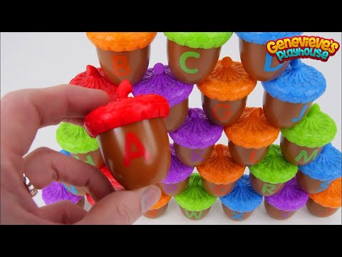 Learn ABCs with Surprise Toys for Toddlers!