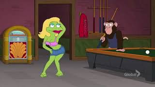 Family Guy - Frog And Monkeys