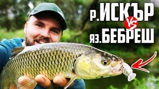 КЕФАЛЬ ПРОЗОРИЙ ВОБЛЕР!!! Риболовля на річці Іськир і костури на Бебреш. #banica