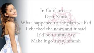 Ariana Grande - Snow In California (with Lyrics)