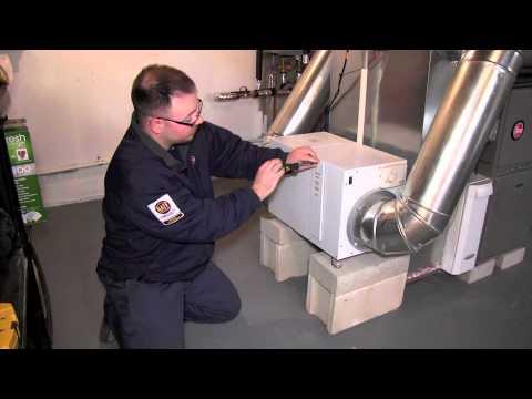 hook up dehumidifier to furnace