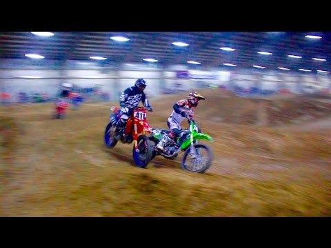 CRAZY DIRT BIKE RACE!!! ARENA CROSS