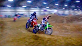 CRAZY DIRT BIKE RACE!!! INDOOR MX