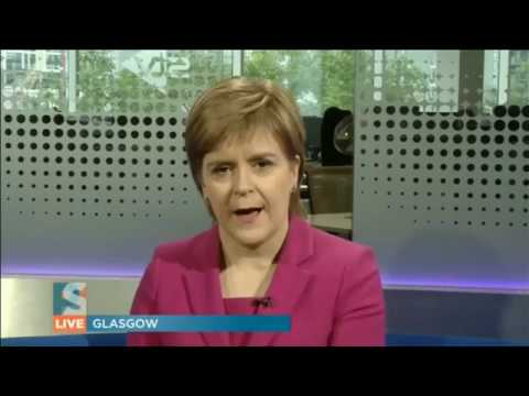 Nicola Sturgeon: hard brexit means a 2nd independence referendum by 2020