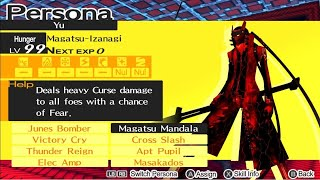 Persona 5/Royal Exclusive Skills on Persona 4 Golden PC Custom Skill Mod
