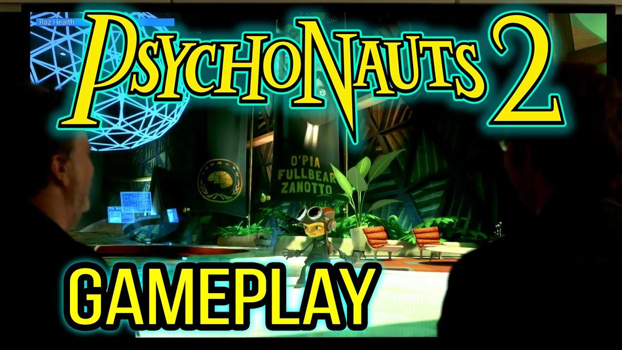 Psychonauts 2 - Gameplay (12 Minutes Worth)