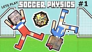 Dad vs. Daughter SOCCER PHYSICS:  Put a Shirt On!!!  | FGTEEV Part 1 Funny Gameplay