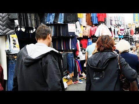 Рынок одежды в Москве Садовод.  Самый крупный вещевой рынок в России. Обзор рынка Садовод, часть 2