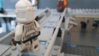 LEGO Star Wars Base MOC on Coruscant