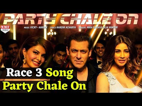 Party Chale On Song| Review | Race 3 | Salman Khan | Mika Singh, Iulia Vantur | Vicky-Hardik
