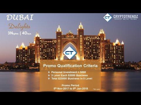Dubai Delights Promo Offer | Cryptotrendz