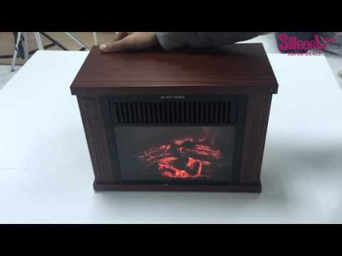 Small Electric Fireplace small electric 1200w fireplace with 2 levels built-in fan heater