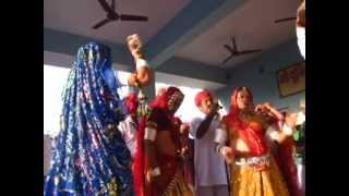 Chang dance on Holi festival 2013 in world famous  Rajaldesar (Churu Distt) Rajsthan , India.