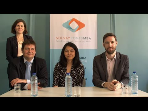 Access MBA Live with Solvay Ponts MBA