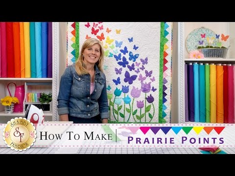 How to Make Prairie Points   with Jennifer Bosworth of Shabby Fabrics