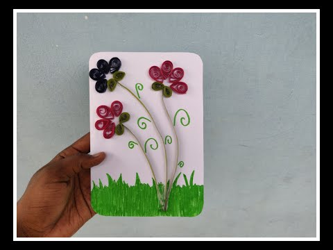 Greeting Card Craft   Craft Works   Quilling Works   Paper arts   Paper Craft
