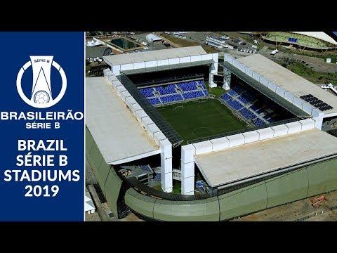 Brazil Série B Stadiums 2019