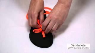 Пример шнуровки 5 петель 2