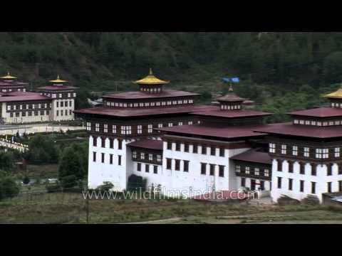 Tashichho Dzong :  place of the Druk Desi in Bhutan