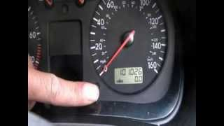 How to reset VW Golf  SERVICE LIGHT