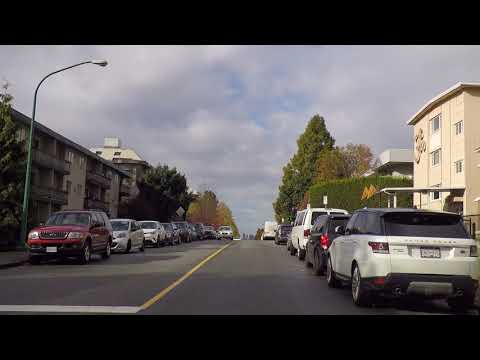 North Burnaby BC Canada - Driving Around The Heights - Fall/Autumn Season