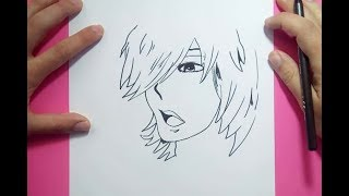 Como dibujar un chico anime paso a paso | How to draw an anime boy