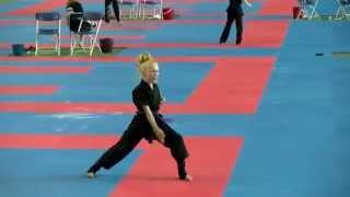 Jesse Jane McParland WAKO European Championships 2015
