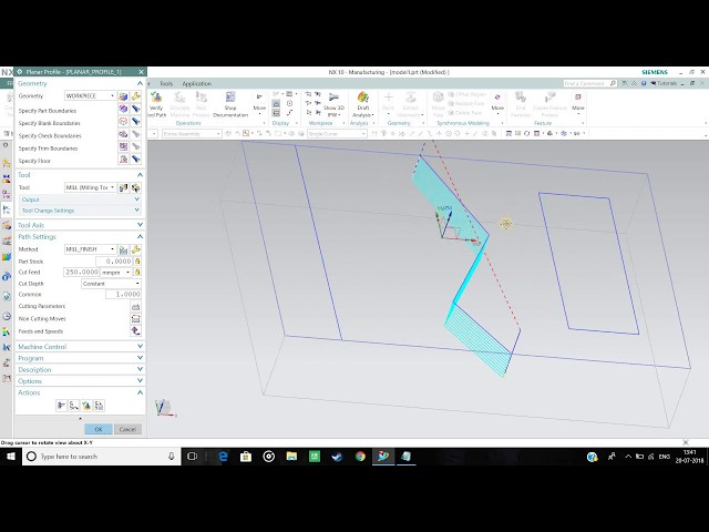 [UG NX] How to make a Line/Sketch Programme Tutorial in NX