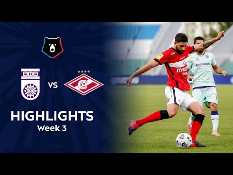 Ufa Spartak Moscow Goals And Highlights