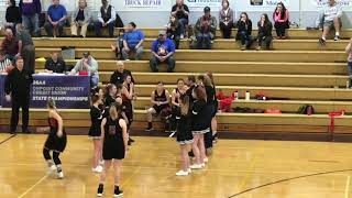 2018-2019 3A (OR) Clatskanie Girls Basketball Team Makes History!