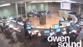 City of Owen Sound June 10th, 2013 Council Meeting