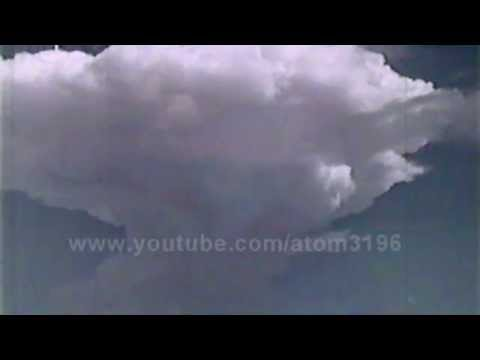 HD French Hydrogen bomb explosion 1968