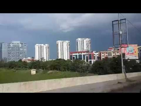 Bangalore City Growling Skyline 2016 | Hebbal to KR Puram