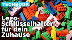 Schlüsselanhänger + Schlüsselbrett aus Lego selbst basteln | TECH HACK