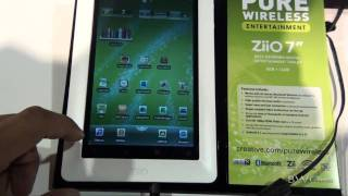Creative Ziio 7 inch tablet hands-on - CES 2011 - BWOne.com