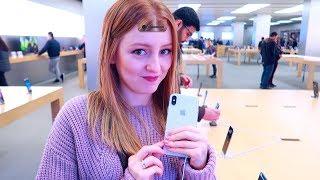 VLOG: ХОЧУ ИЛИ НЕТ IPHONE X? 06.11.17