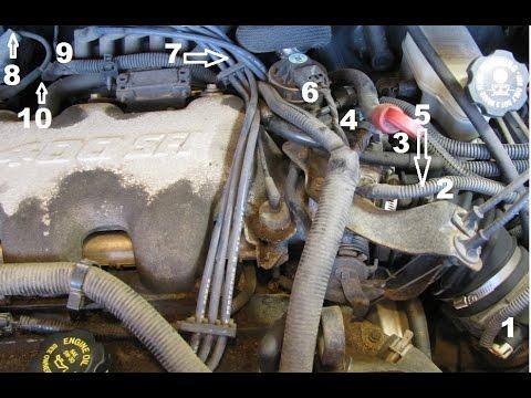 34L GM lower intake manifold gasket replacement part 1