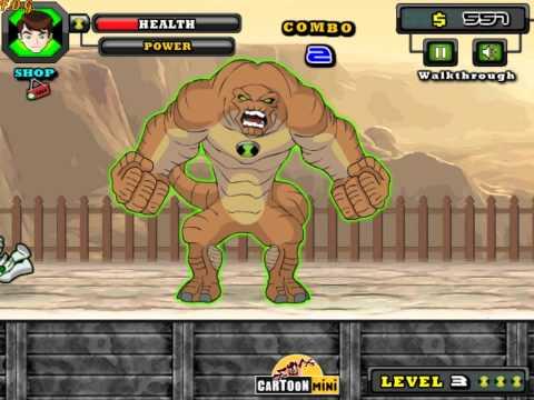 Ben10 Street Fight (Бен 10: уличная драка) - прохождение игры