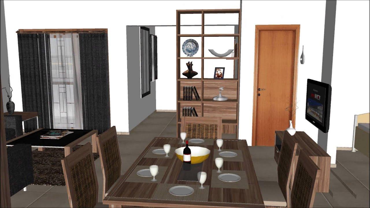 Google sketchup animation abdul bari residential interior design youtube - Interior design bari ...