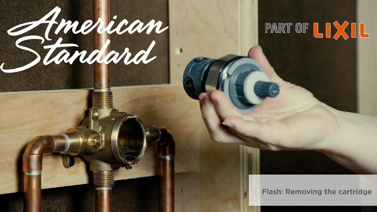 Flash Shower Rough in Valves: Removing the Cartridge   YouTube